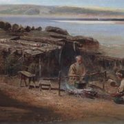 Fishermen on the Volga. 1872