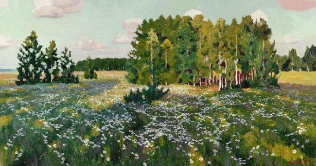 Flowery meadow