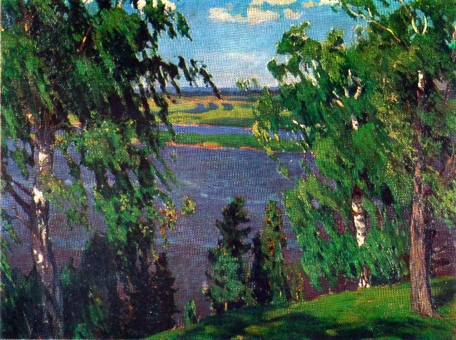 Green noise. 1904. The State Russian Museum