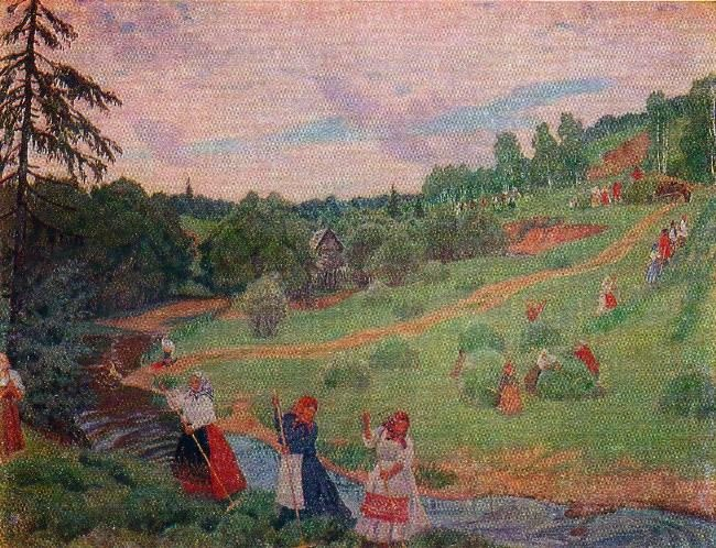 Haymaking. 1917