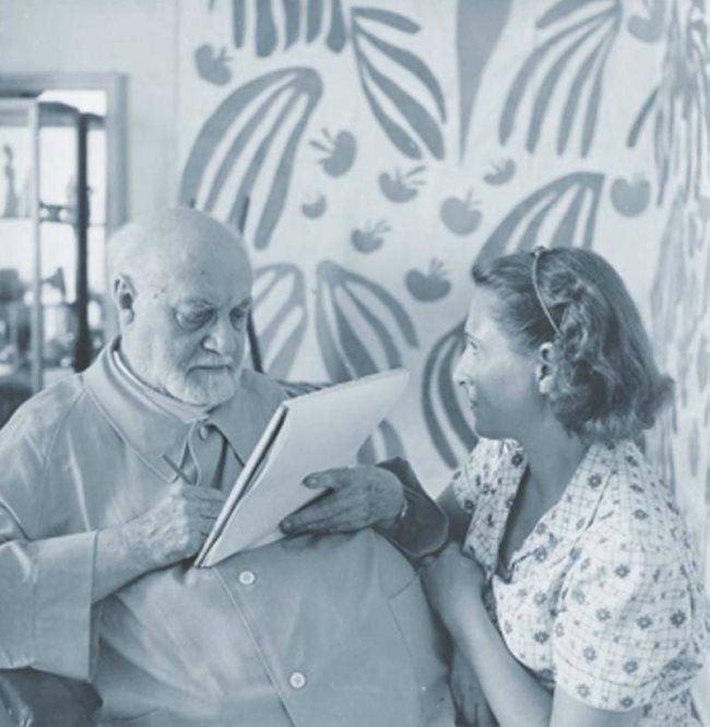 Henri Matisse and Lydia Delectorskaya