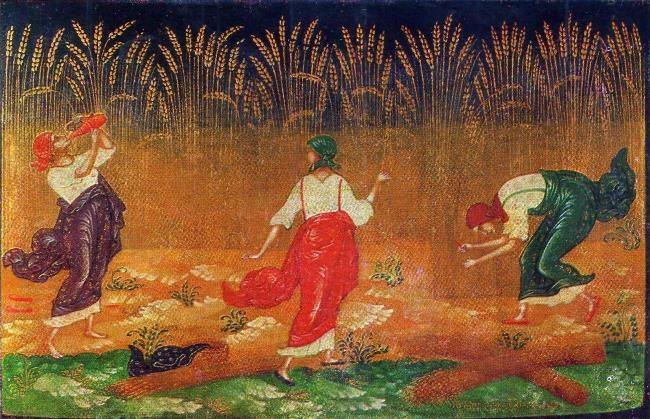 I.V. Markichev. Harvest. 1925
