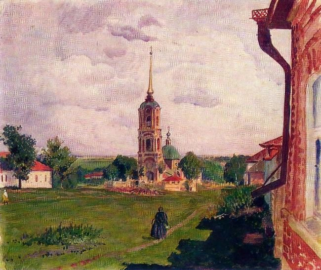 Lebedyan. Kosmodemyanskaya church. 1926