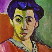 Madame Matisse (Green Stripe). 1905