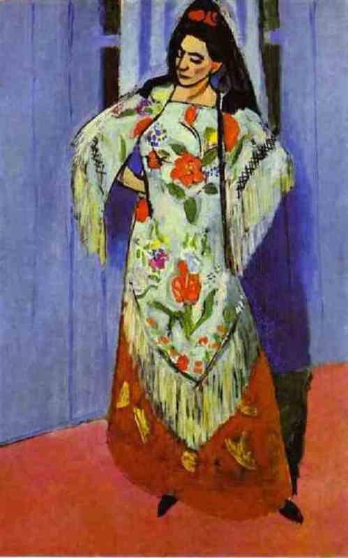 Manila shawl. 1911