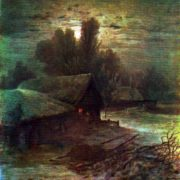 Moonlight Night. Private collection