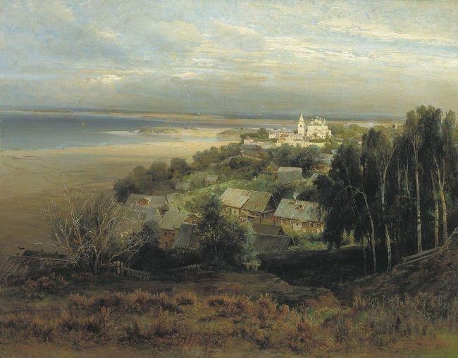Pechersky Monastery near Nizhny Novgorod