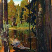 Quiet lake. 1908