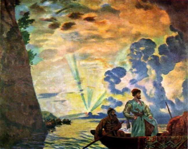 Stepan Razin. 1918
