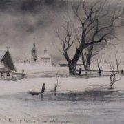 Thaw. 1887