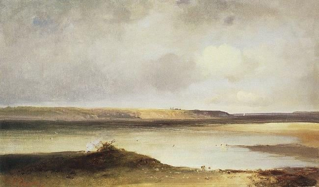 The Volga. First half of 1870