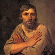 A peasant with crossed arms