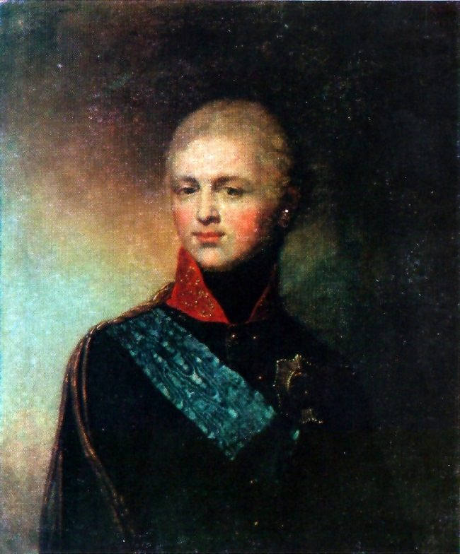 Alexander I in his youth. 1777