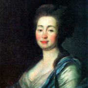 Anna Dorothea-Louise Schmidt. 1780