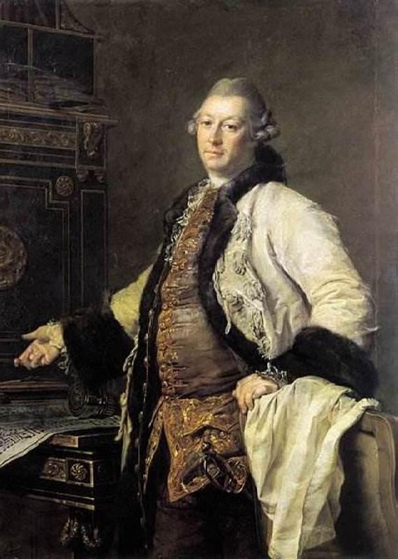 Architect Alexander Filippovich Kokorinov, 1769