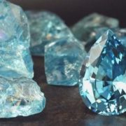 Astonishing aquamarine
