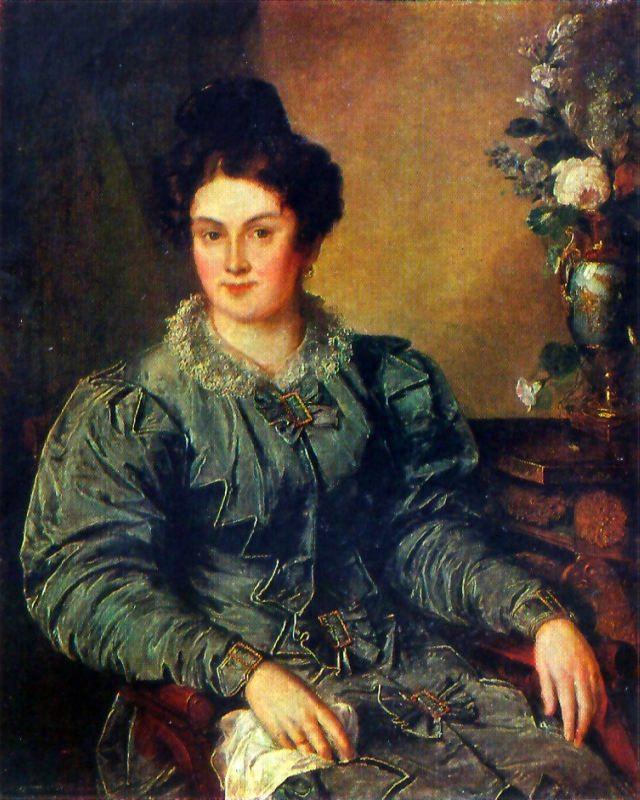 E.V. Meshkova, nee Bilibina. 1832