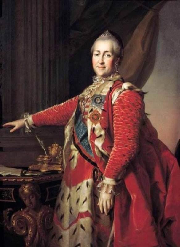 Empress Catherine II, 1782
