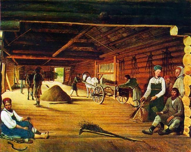 Gumno. 1821-1822