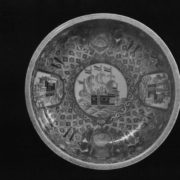 Interesting Dish. Hizen kilns. 18th century. Porcelain