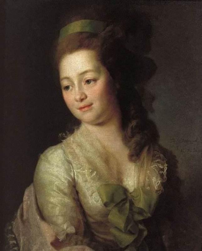 Maria Alekseevna Dyakova (Lvova), 1778