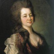 Maria Alekseevna Lvova (nee - Diakova), 1781