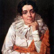 Martha Afanasyevna Venetsianova, the artist's wife, the State Russian Museum