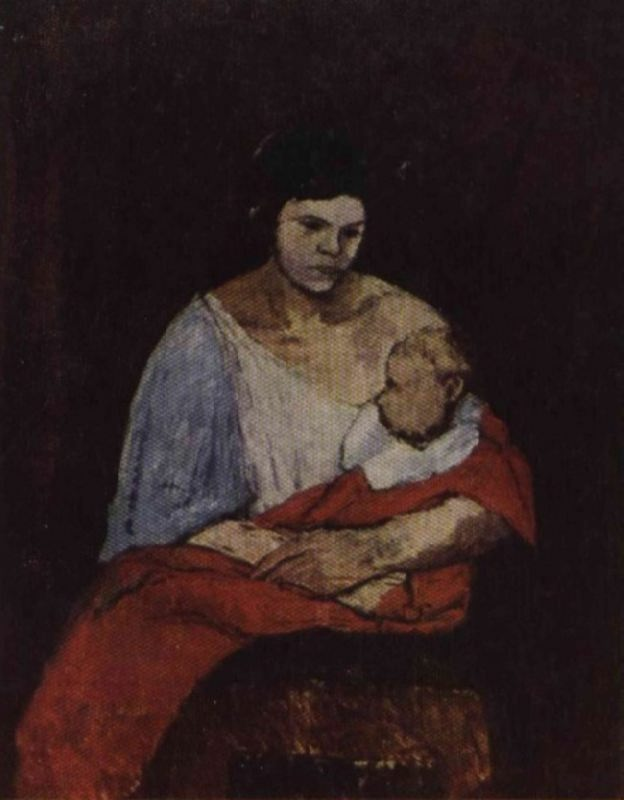 Mother and child. 1927