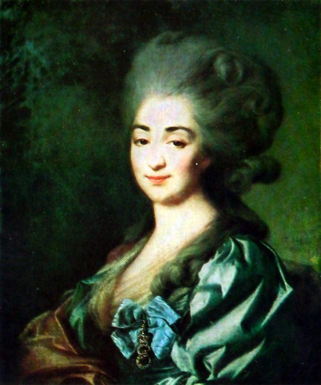 P.N. Repnina. 1781
