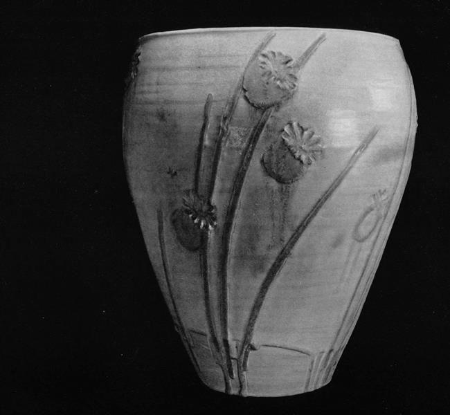 Poppies Vase. Miyashita Zenzu. XX century