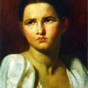 Portrait of a Young Peasant Woman. 1820s