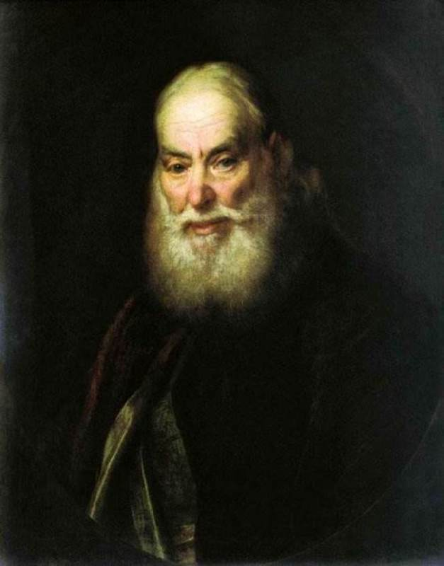 Portrait of a priest, father of the artist, 1779