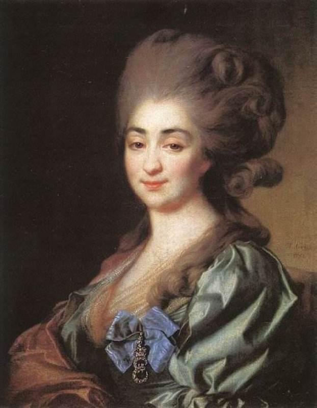 Princess Praskovia Nikolaevna Repnina, 1781