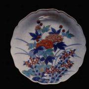 Spring Sakura Dish. Imaizumi Imaemon. XX century