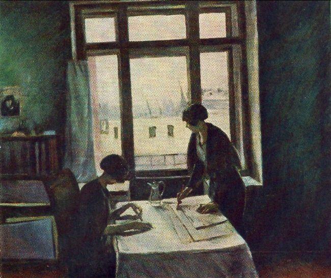 Vuzovki. 1933. The State Tretyakov Gallery