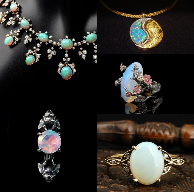Beauty of opals