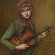 Charming voice of violin