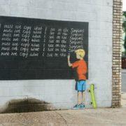 Banksy - sly prankster