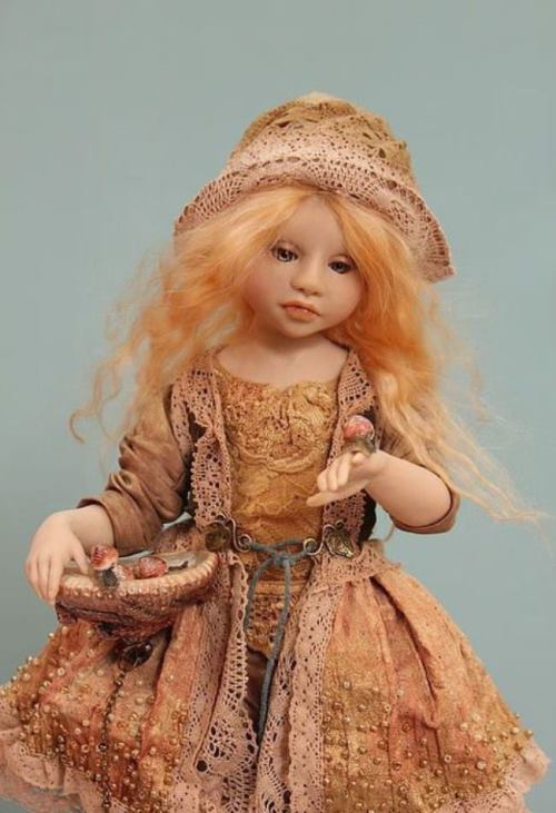 Amazing dolls. Author Alena Abramova