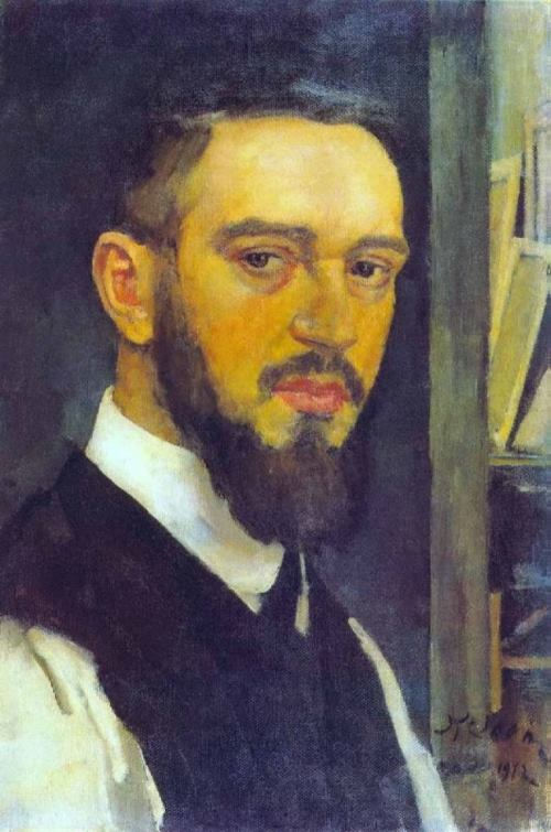 Konstantin Yuon and his wonderful pictures. Self-portrait, 1912