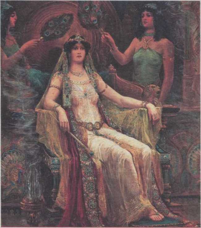 Edward Slocomb. Queen of Sheba. 1907
