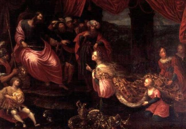 Francken II, Frans. King Solomon and the Queen of Sheba