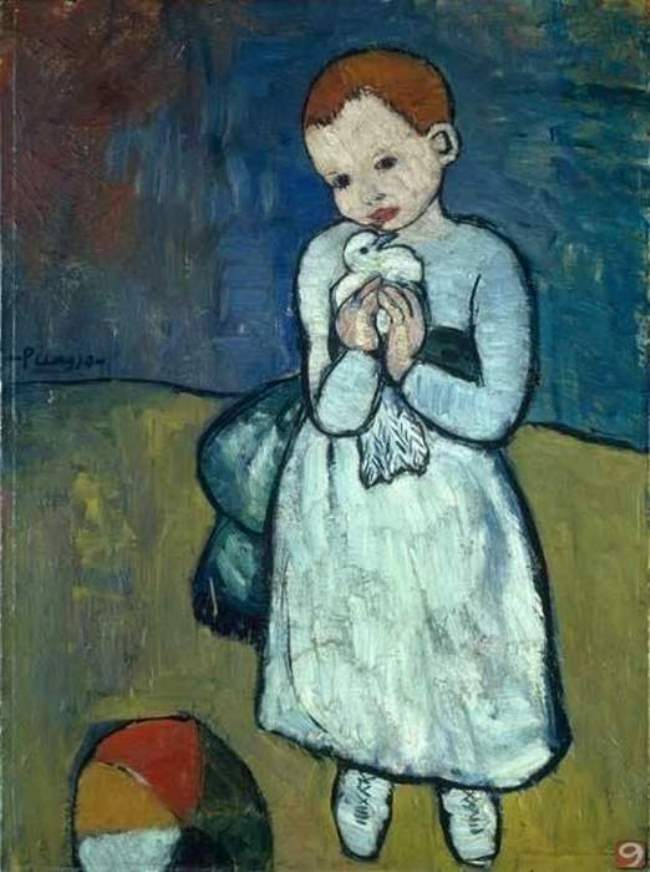 Pablo Picasso. Child with a pigeon