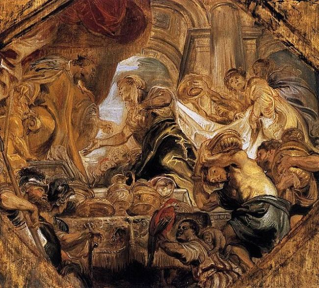 Rubens, Solomon and the Queen of Sheba