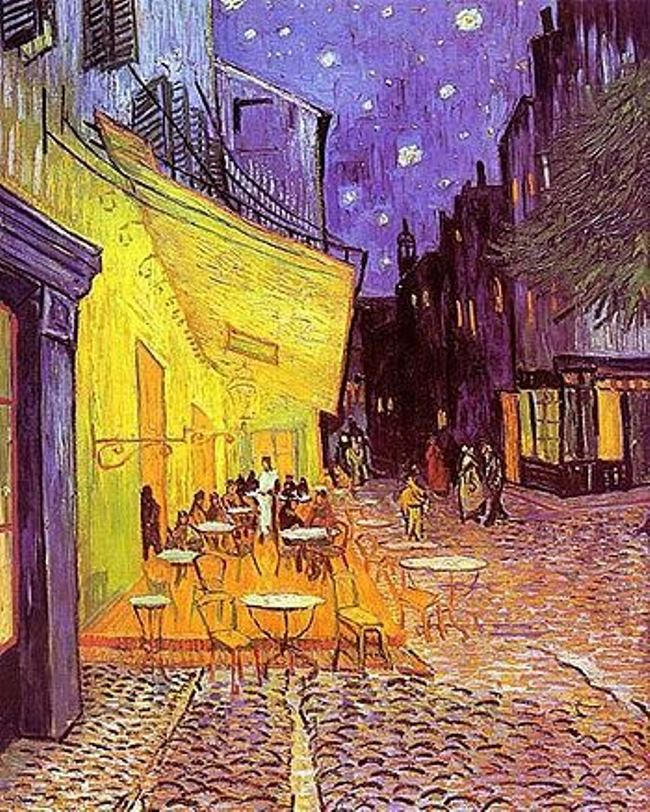 Vincent Van Gogh. Cafe terrace at night