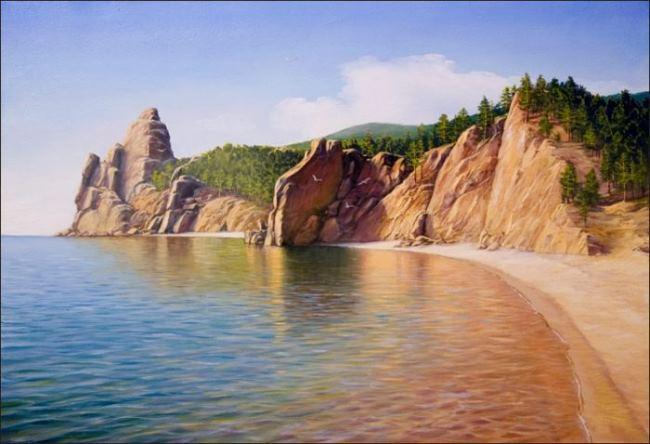 Wonderful Peschanaya Bay