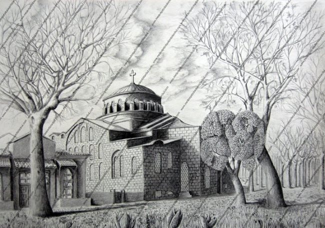 Melikshah Soyturk - topographic painter