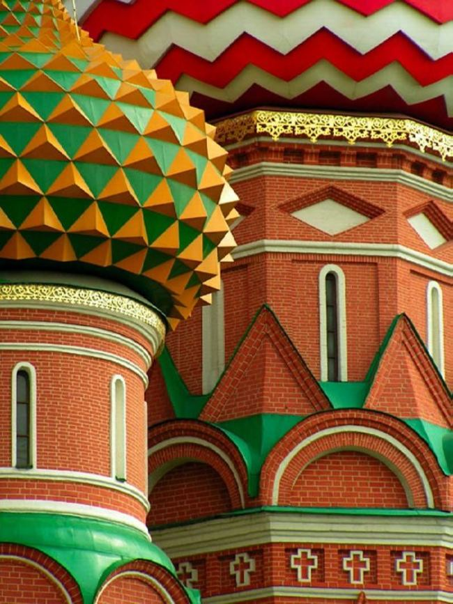 Colorful domes