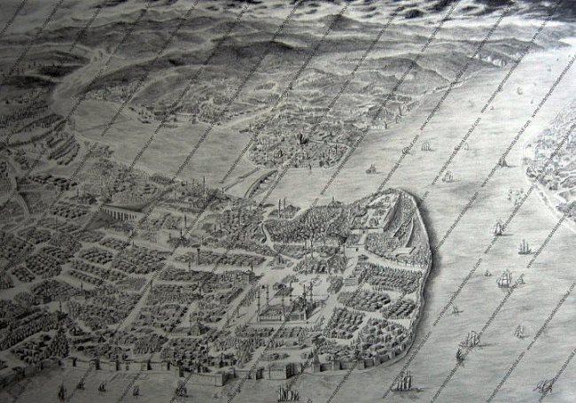 Melikshah Soyturk - topographic painter